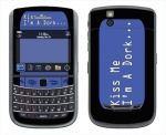 BlackBerry Bold 9650 Skin :: Kiss Me Dork