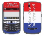 BlackBerry Bold 9650 Skin :: Kiss Me French