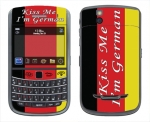 BlackBerry Bold 9650 Skin :: Kiss Me German