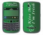 BlackBerry Bold 9650 Skin :: Kiss Me Irish