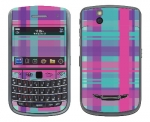 BlackBerry Bold 9650 Skin :: Candy Shop Plaid