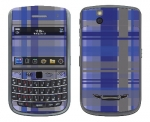 BlackBerry Bold 9650 Skin :: Oceans Deep Plaid