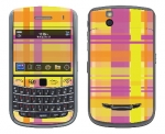 BlackBerry Bold 9650 Skin :: Sun Kissed Plaid