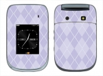 BlackBerry Style 9670 Skin :: Argyle Purple