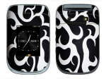 BlackBerry Style 9670 Skin :: Curly Contours