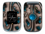 BlackBerry Style 9670 Skin :: Cynic Blue