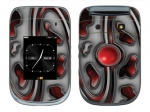 BlackBerry Style 9670 Skin :: Cynic Red