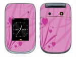 BlackBerry Style 9670 Skin :: Floating Hearts