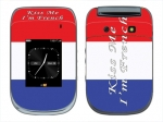 BlackBerry Style 9670 Skin :: Kiss Me French