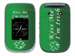 BlackBerry Style 9670 Skin :: Kiss Me Irish