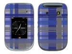BlackBerry Style 9670 Skin :: Oceans Deep Plaid
