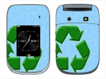 BlackBerry Style 9670 Skin :: Recycle