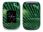 BlackBerry Style 9670 Skin :: Splatter Green