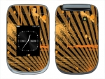 BlackBerry Style 9670 Skin :: Splatter Orange