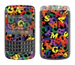 BlackBerry Bold 9700 Skin :: Alphabet Soup