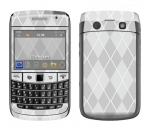 BlackBerry Bold 9700 Skin :: Argyle Gray