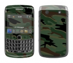 BlackBerry Bold 9700 Skin :: Camo Green