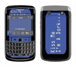 BlackBerry Bold 9700 Skin :: Kiss Me Dork