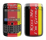 BlackBerry Bold 9700 Skin :: Kiss Me German