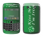 BlackBerry Bold 9700 Skin :: Kiss Me Irish