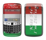 BlackBerry Bold 9700 Skin :: Kiss Me Italian