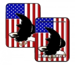 HP Touch Pad Skin :: American Flag 2