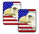 HP Touch Pad Skin :: American Flag 3