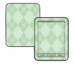 HP Touch Pad Skin :: Argyle Green