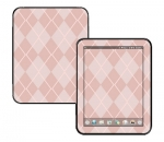 HP Touch Pad Skin :: Argyle Red