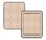 HP Touch Pad Skin :: Argyle Tan