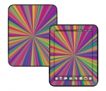 HP Touch Pad Skin :: Color Blast