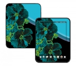 HP Touch Pad Skin :: Cosmic Flowers 2