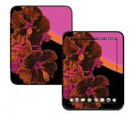 HP Touch Pad Skin :: Cosmic Flowers 3