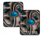 HP Touch Pad Skin :: Cynic Blue
