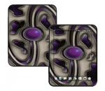 HP Touch Pad Skin :: Cynic Purple