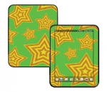HP Touch Pad Skin :: Falling Stars