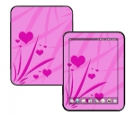 HP Touch Pad Skin :: Floating Hearts