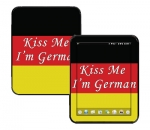 HP Touch Pad Skin :: Kiss Me German
