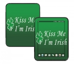 HP Touch Pad Skin :: Kiss Me Irish
