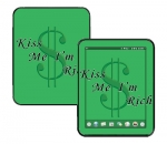 HP Touch Pad Skin :: Kiss Me Rich