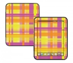 HP Touch Pad Skin :: Sun Kissed Plaid