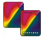 HP Touch Pad Skin :: Polar Spectrum