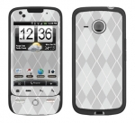 HTC Droid Eris Skin :: Argyle Gray