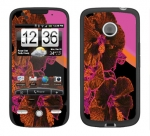 HTC Droid Eris Skin :: Cosmic Flowers 3