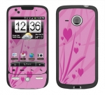 HTC Droid Eris Skin :: Floating Hearts