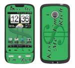 HTC Droid Eris Skin :: Kiss Me Rich
