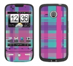 HTC Droid Eris Skin :: Candy Shop Plaid