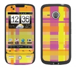 HTC Droid Eris Skin :: Sun Kissed Plaid
