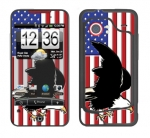HTC Droid Incredible Skin :: American Flag 2