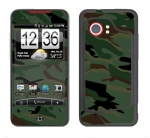 HTC Droid Incredible Skin :: Camo Green